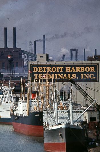 Detroiturbex Com Detroit Harbor Terminal Boblo Island