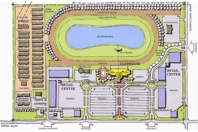 Pinnacle race course Airport planning and design course